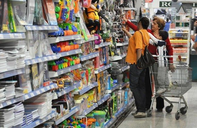 Las ventas minoristas subieron 1,7% en julio