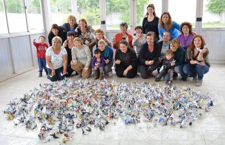 Los Museos de los Pueblos llegan a Rosario con mil grullas por la paz
