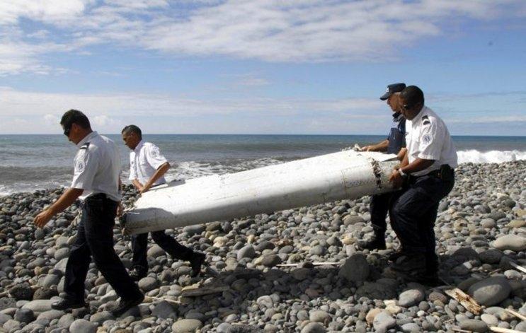 Confirman que el ala encontrada en el océano índico es del Malaysia