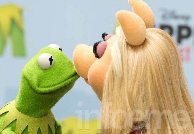 Se separaron la rana René y Miss Piggy