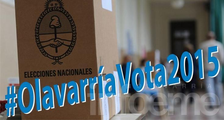#OlavarríaVota2015 : el hashtag para el domingo