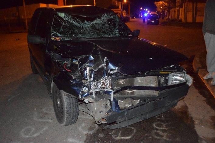 Un joven con heridas graves tras un violento accidente