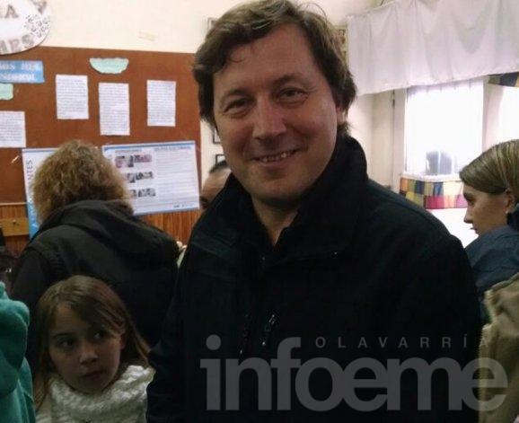 """Votó Guillermo Santellán: """"Todos los años es la misma expectativa"""""""
