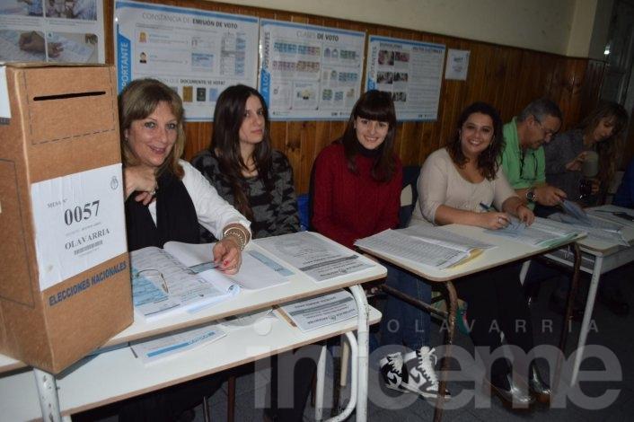 El 20% de los olavarrienses ya emitió su voto