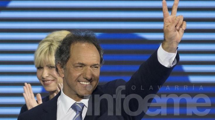 Scioli logró la mayoría de votos en Olavarría