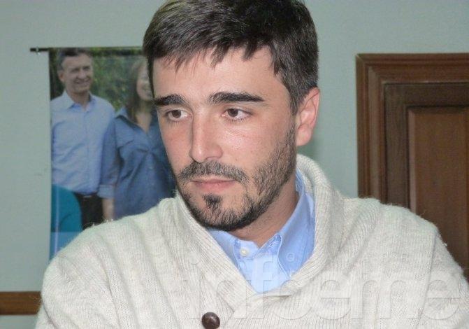 """Ezequiel Galli: """"El 80 por ciento de los olavarrienses no quiere más eseverrismo"""""""