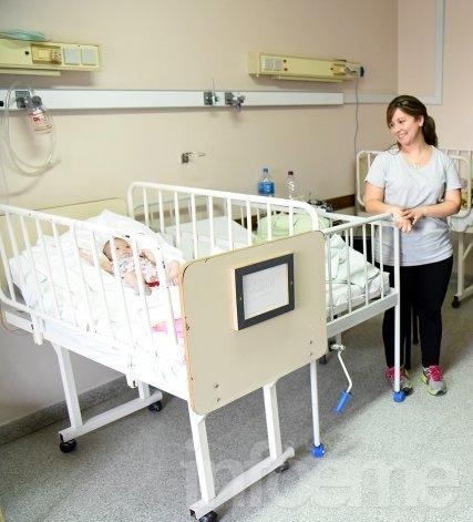 Las camas en pediatría ya tienen nombres de niños internados