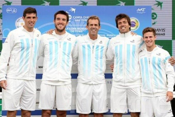 Para visitar a Bélgica, el capitán de Copa Davis repetirá el equipo
