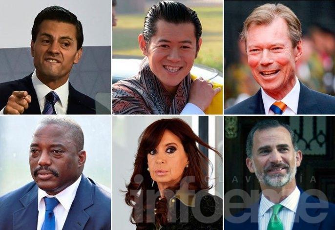 Cristina, entre los dirigentes más hot del mundo