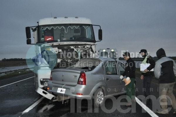 Mueren dos Frailes radicados en Olavarría en violento choque sobre ruta 3