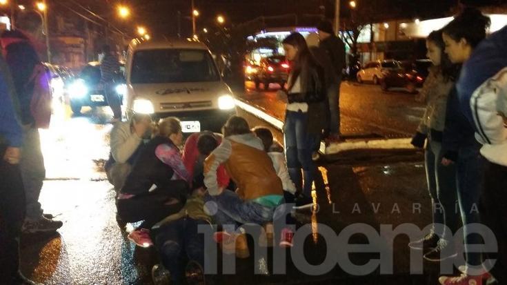 Dos mujeres heridas al ser atropelladas por una camioneta