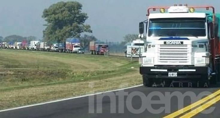 Restricción de camiones por el fin de semana largo