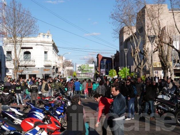 """Se conmemoró el """"Día de los caídos en motociletas"""""""