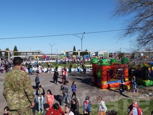 Cerca de 30.000 personas festejaron el Día del Niño