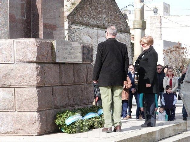 Se realizó el acto aniversario por el fallecimiento del General José de San Martín