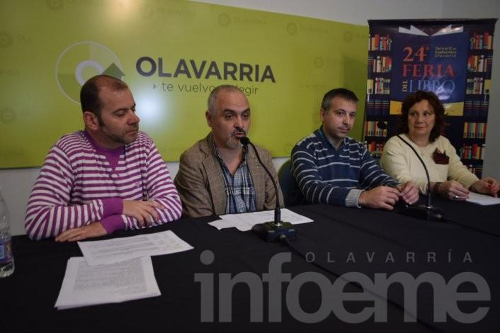 Se presentó la 24º Feria del Libro en Olavarría, será en septiembre