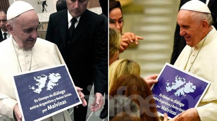 El Papa pidió diálogo entre Argentina y Reino Unido por Malvinas