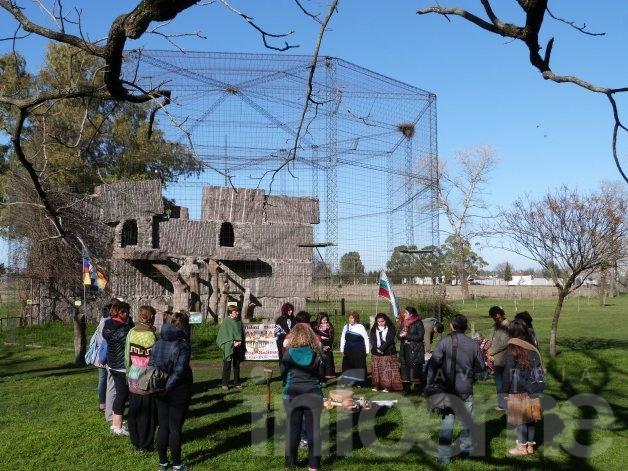 La pachamama recibe y da: una nueva ceremonia se realizó en el Bioparque La Máxima