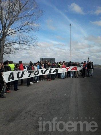 Convocan en Azul a protesta en ruta 3 al término del TC