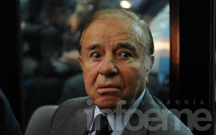 """AMIA: Menem pidió que se lo releve del """"secreto de Estado"""""""