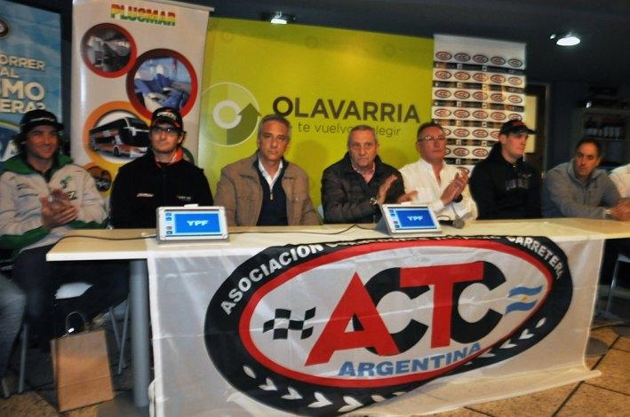 Se presentó la carrera de TC en Olavarría