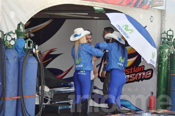 Matías Rossi marca el camino en Olavarría