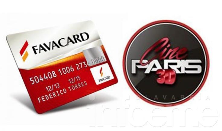 Con Favacard, 50% de descuento en el Cine París