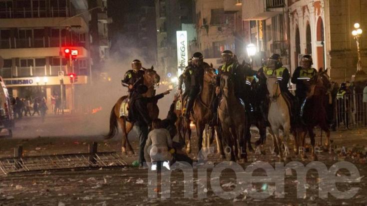 Violenta represión en Tucumán