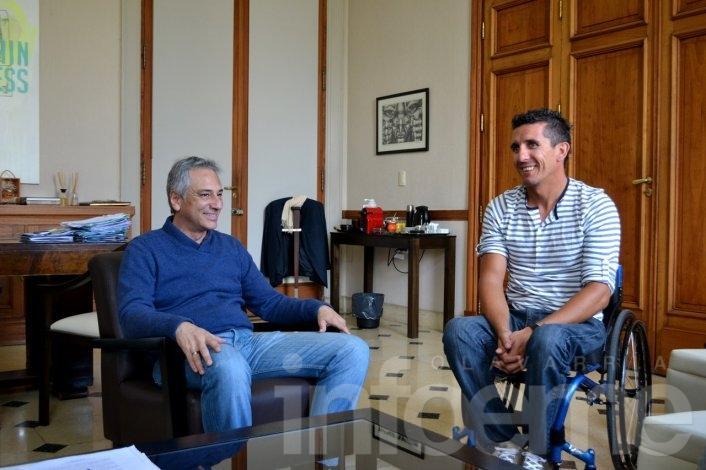 Lucas Díaz Aspiroz fue recibido por Eseverri