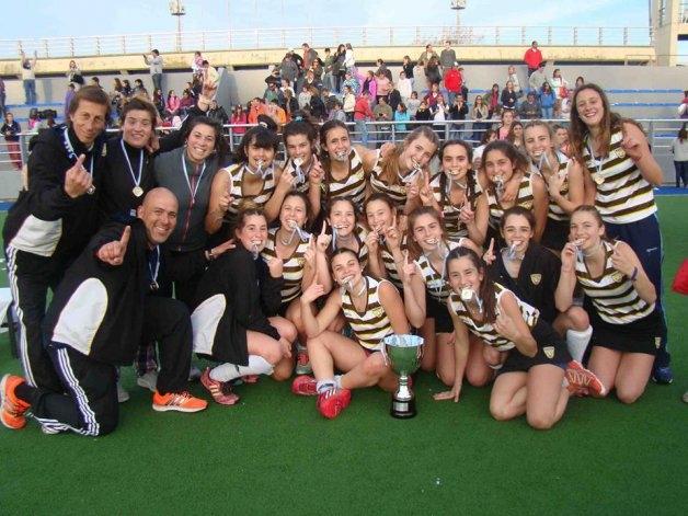 El equipo de Martinelli fue campeón en Mar del Plata