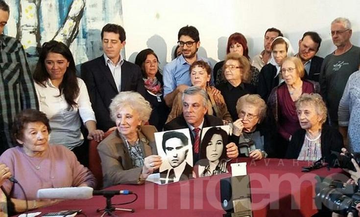 """Estela de Carlotto: """"Bienvenida nieta 117 y por muchos más"""""""