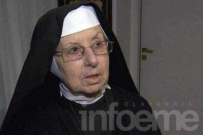 La hermana Inés negó haber encubierto a López