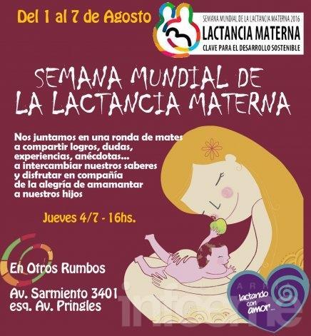 Actividad por la Semana Mundial de la Lactancia Materna