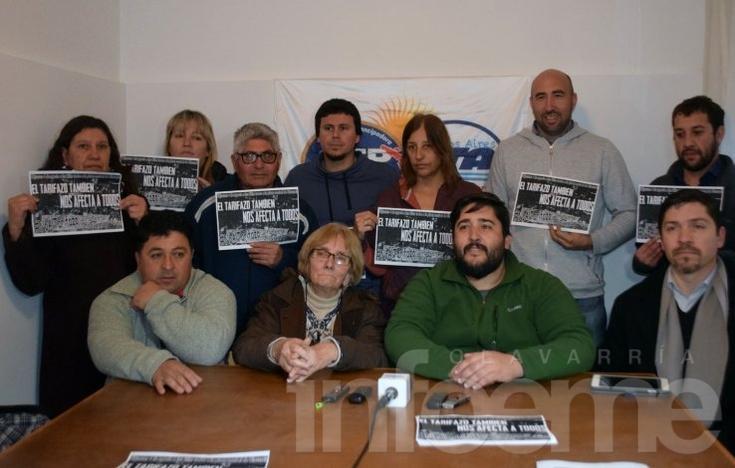 """Convocan a marchar contra el """"tarifazo"""" en Olavarría"""