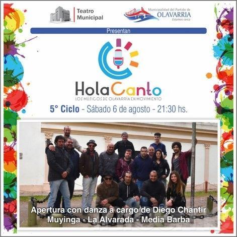 Infoeme te invita al show de Hola Canto
