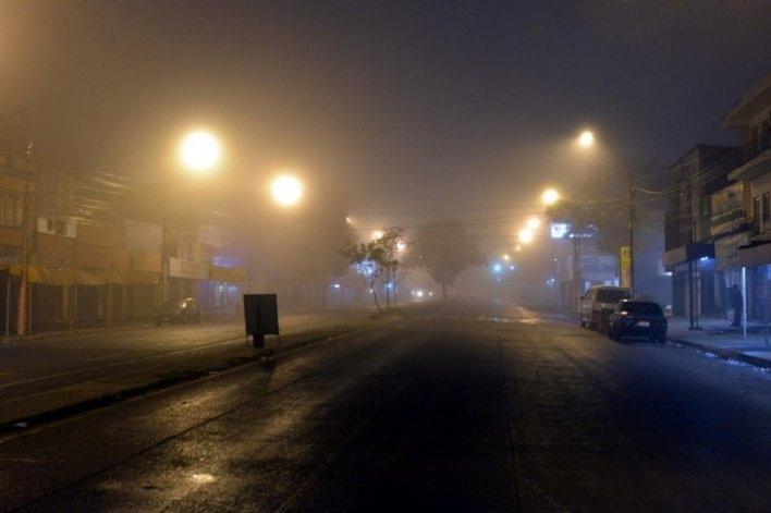 ¡Atención! Bancos de niebla complican la visibilidad