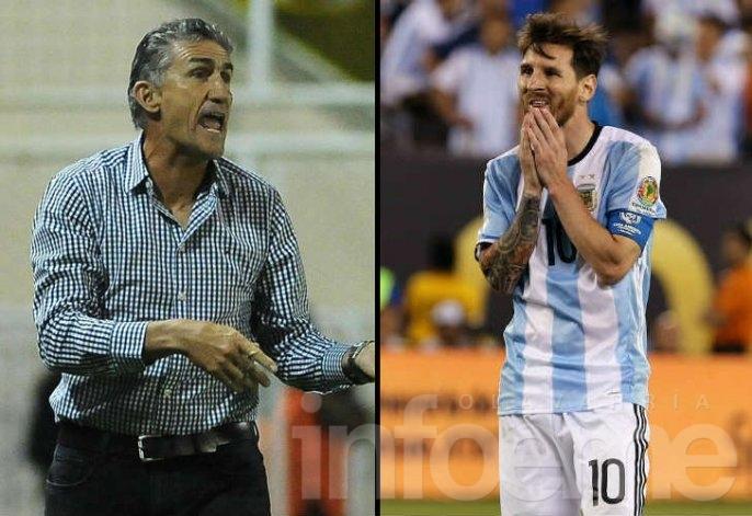 """Bauza: """"A Messi no hay que convencerlo de nada"""""""