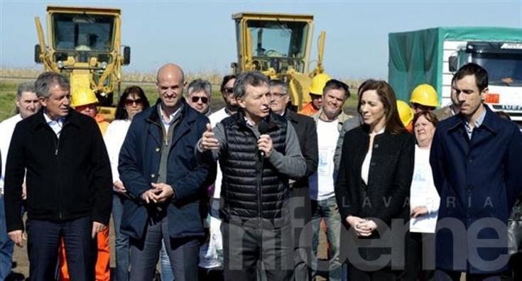 """Macri: """"Con este solcito hay que apagar la calefacción"""""""