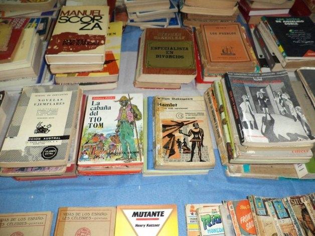 Feria de libros usados este sábado