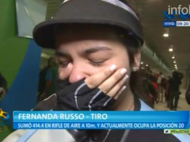 La emoción de la argentina más joven en Río tras su debut olímpico