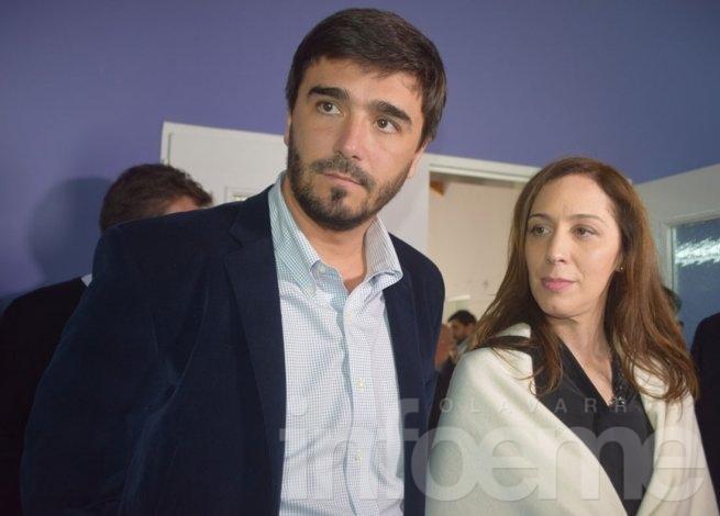 """Vidal visitó Olavarría y realizó un """"timbreo"""" en barrio Isaura"""
