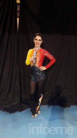 Medalla de oro para Mariana Espil en Rosario