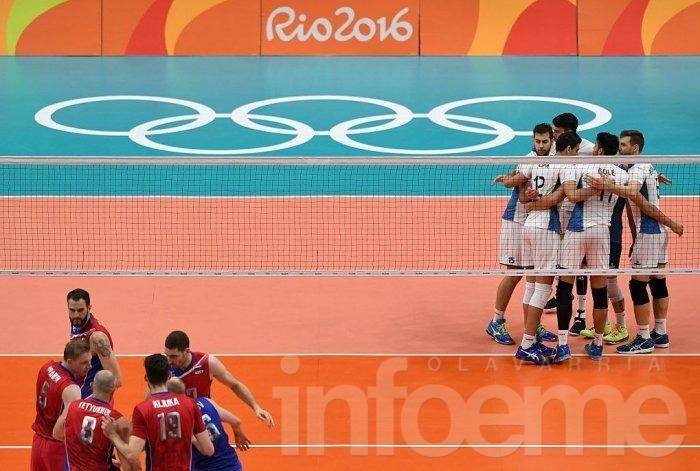 Histórico triunfo del vóleibol argentino ante Rusia