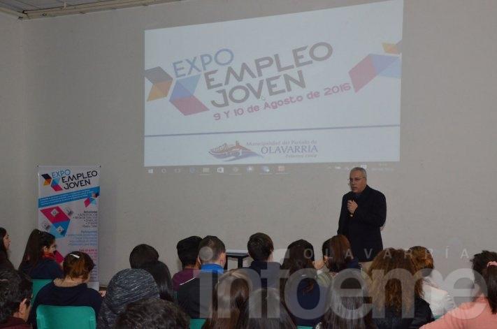 Comenzó la Expo Empleo Joven