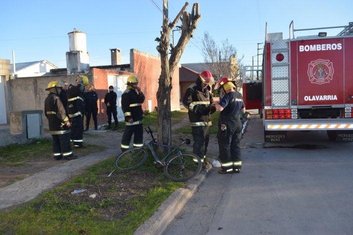 Incendio en una vivienda alertó a Bomberos