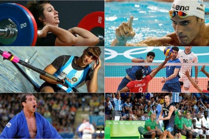 Cómo se presentan los deportistas argentinos este miércoles