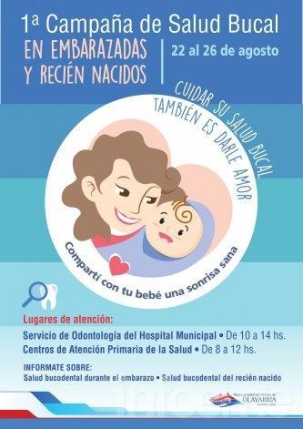 Se realizará campaña de salud bucal en embarazadas