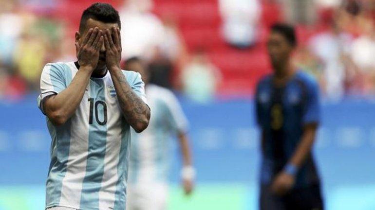La selección de fútbol quedó afuera de Río