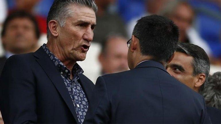"""Bauza se reunió con Messi: """"No hablamos de su regreso"""""""
