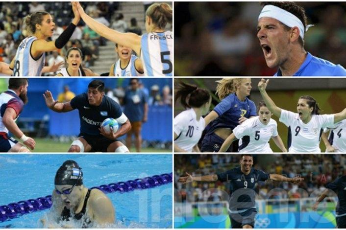 Viernes: jornada para seguir a los deportistas argentinos